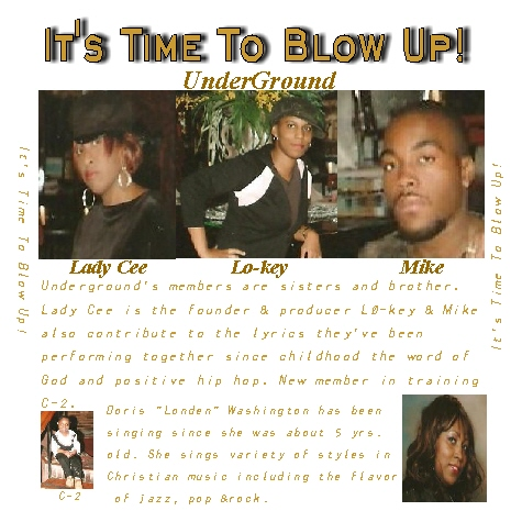 """New CD """"It's Time To Blow Up""""."""